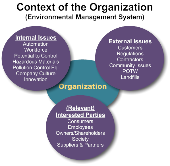 context of the organization ems 07 1