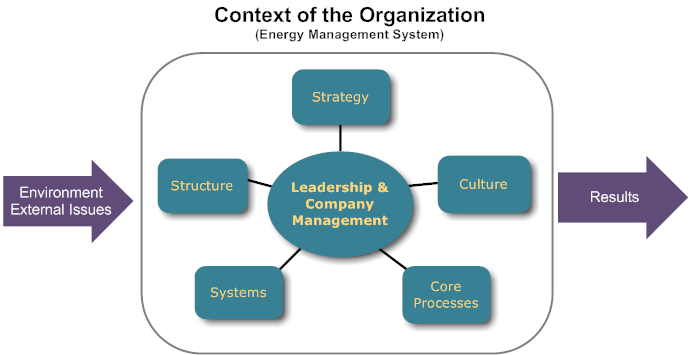 context of the organization ems 08